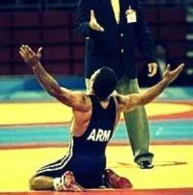 LUTTEUR ARMENIEN - Lutte Armenie - Armenian Wrestling