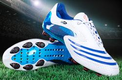adidas f50 blanc bleu