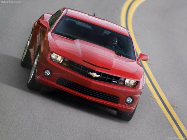Semaine Américaine : Chevrolet Camaro SS