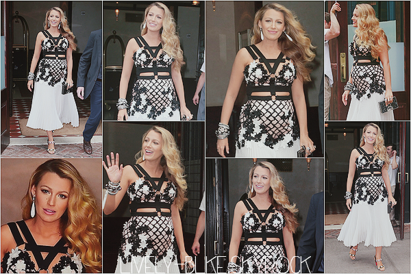 #  Candids  On July 15, 2016 Blake leaving her hotel in New York City