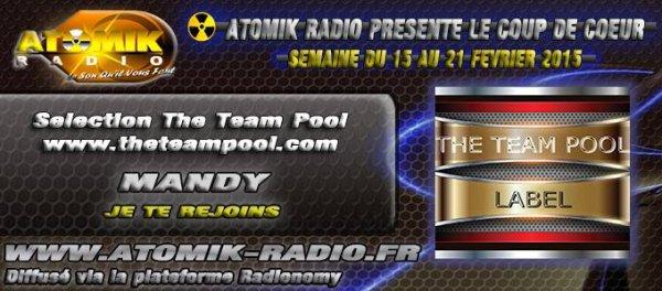 MANDY, COUP DE COEUR D'ATOMIK RADIO DU 15 AU 21/02/2015