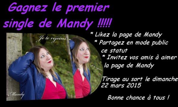 CONCOURS FACEBOOK : GAGNEZ MON 1ER SINGLE !!!!!