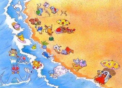 plage pokémon