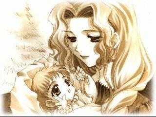 La maman :) !