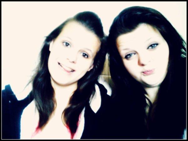Ma soeur , celle a qui je donnerais ma vie.♥
