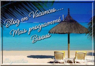 Bonnes vacances...