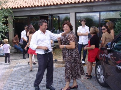 Vacances Portugal... baptême de Miguel mon neveu...