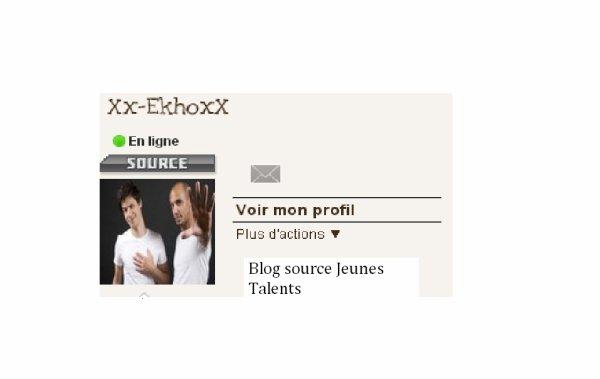 Xx-EkhoxX Blog source Jeunes Talents