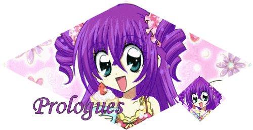 Prologue &' Chapitres ♥