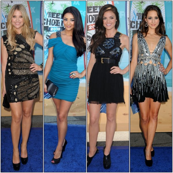 """ I won't be that easy Bitches -A ""PRETTYxLiiTLLExLiiARS keeps no secrets about Pretty Little Liars ..   Entre Ashley Benson , Lucy Hale , Shay Mitchell & Troian Bellisario qui a le plus de style ? Voter sur cette Article & je ferais la biographie de la gagnante :D & comme j'ai décidé d'être généreuse : 1 Vote = 3 com's"