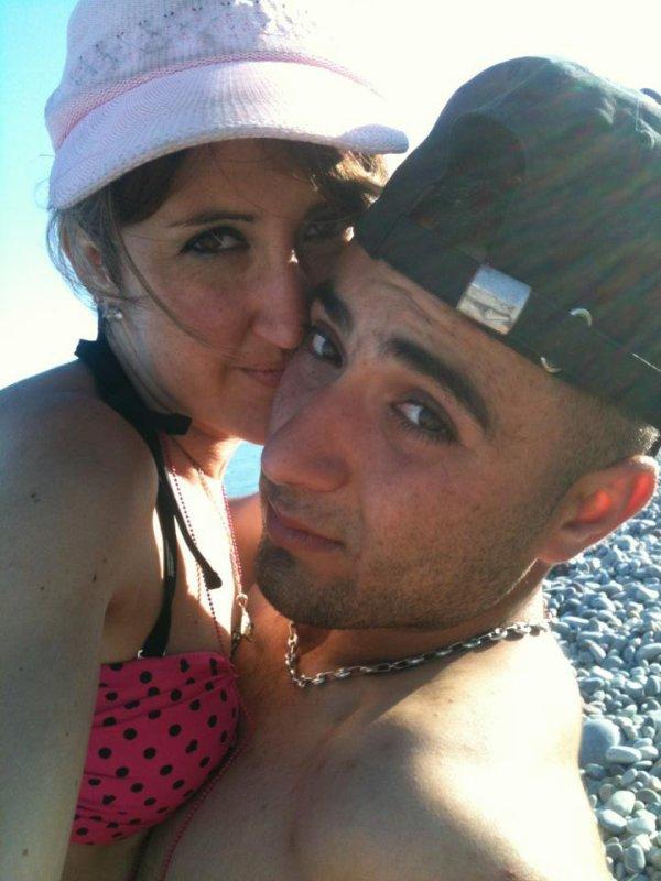 mon mari et moi aujourd'hui 5 mois de mariage