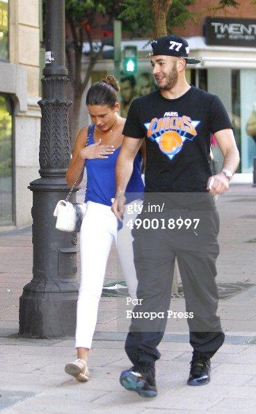karim benzema et sa femme