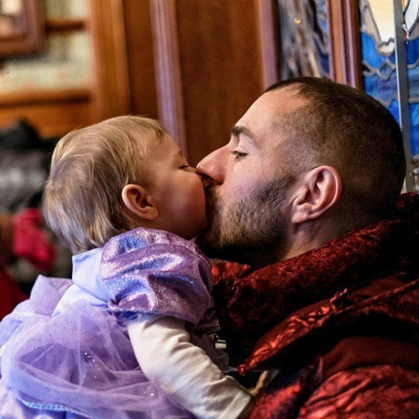 Karim Benzema et sa fille