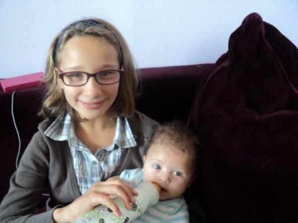 voila ma fille et mon fils je vous aime de tro