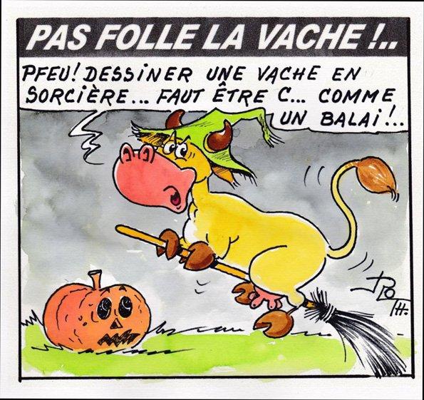 PAS FOLLE LA VACHE 585