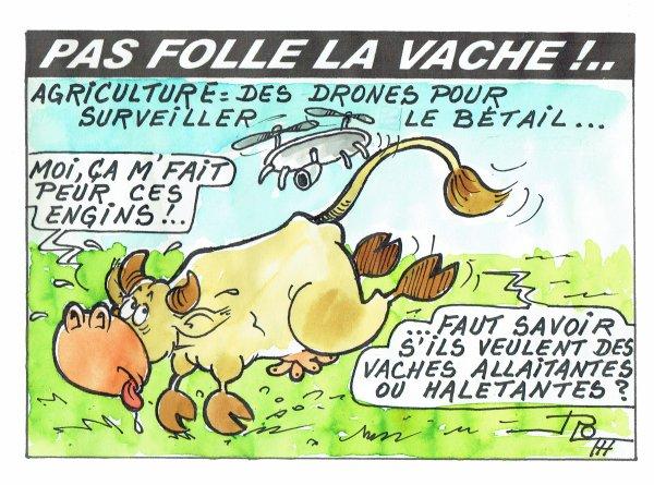 PAS FOLLE LA VACHE 601 DU 12-03-18