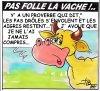 PAS FOLLE LA VACHE 606