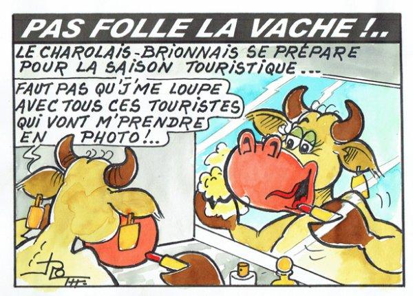 PAS FOLLE LA VACHE 608
