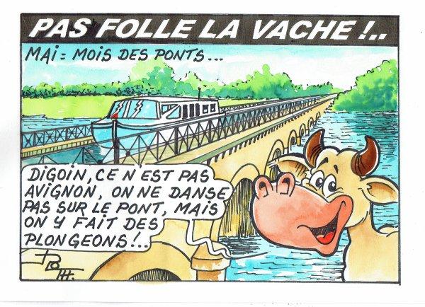 PAS FOLLE LA VACHE 609