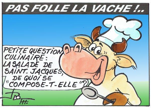 PAS FOLLE LA VACHE 613