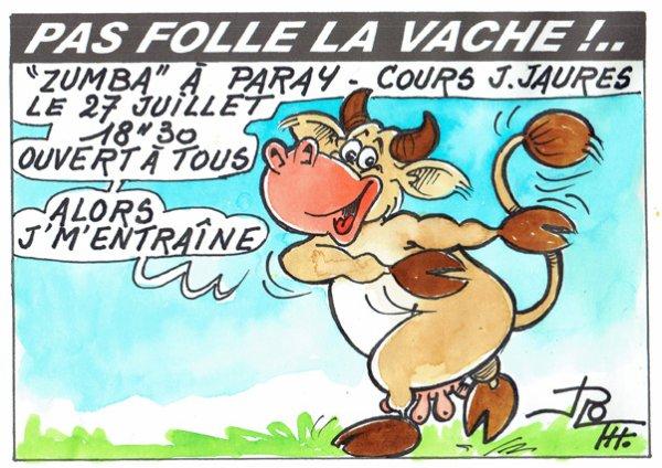 PAS FOLLE LA VACHE 619