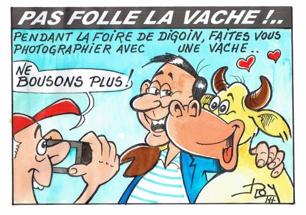 PAS FOLLE LA VACHE 624