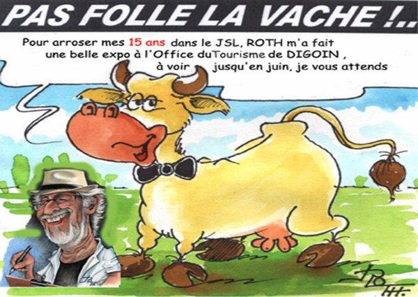 PAS FOLLE LA VACHE 657