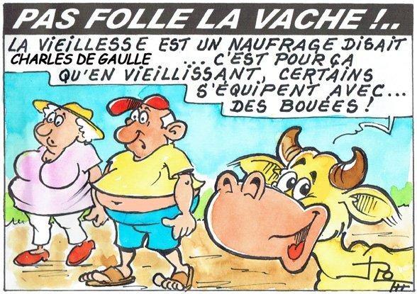 PAS FOLLE LA VACHE 658