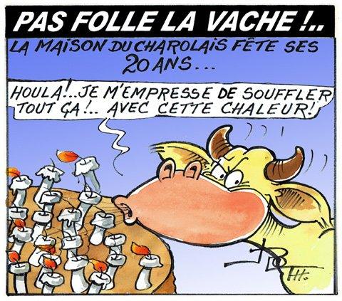 PAS FOLLE LA VACHE 667