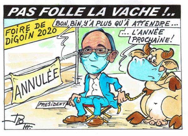 PAS FOLLE LA VACHE 713