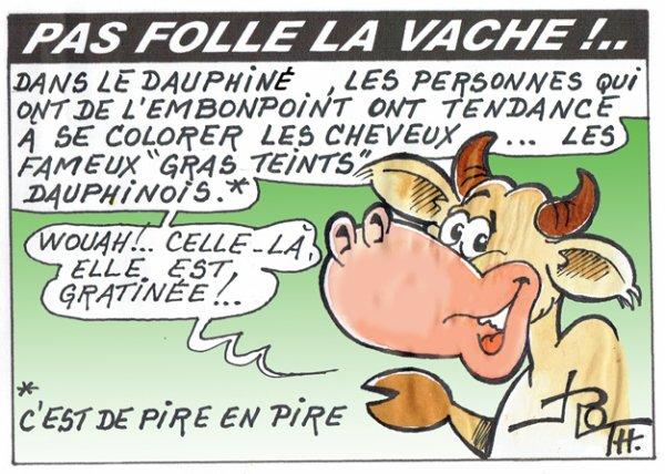 PAS FOLLE LA VACHE 763