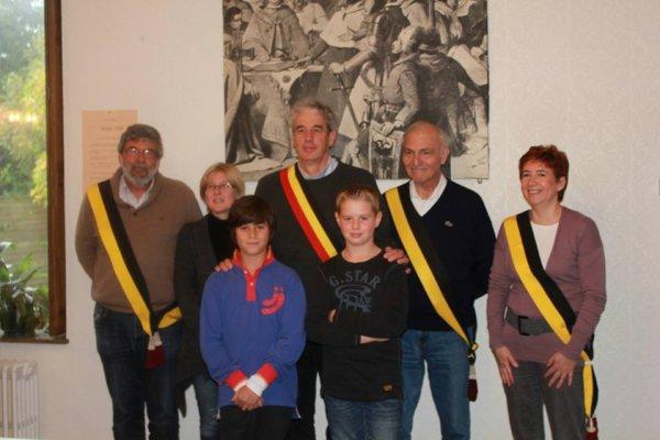 Tristan Foldesi et Bastien Cabrera félicités par le bourgmestre et les échevins !