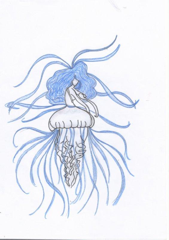 femme meduse