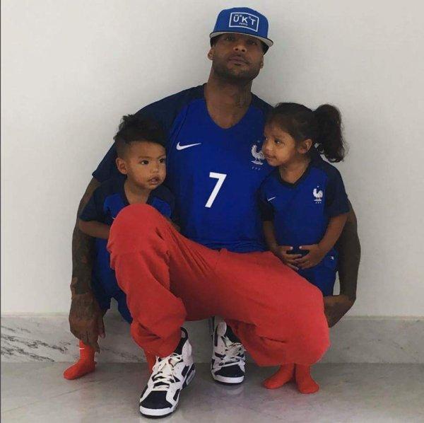 YOUNGSTAR DIT EMMANUEL GUIROU booba et ces deux enfants très beau famille