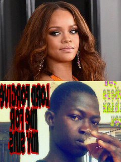 Emmanuel guirou and rihanna
