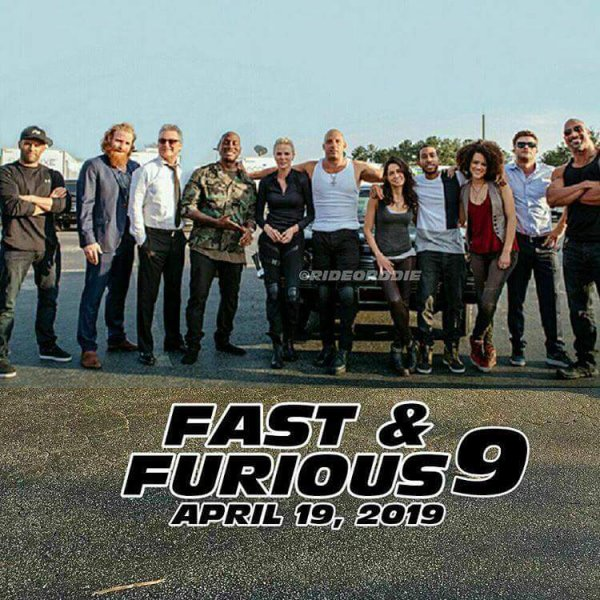 Emmanuel guirou fast and furious9 new april 2019