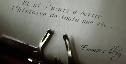 J'me présente, je m'appelle Emmie, j'voudrais bien réussir ma vie...