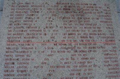 MEMORIAL AMERICAIN