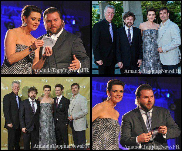 Voter pr Amanda + Voter pr l'association d'Amanda + Sorti DVD de sanctuary saison 2 au USA le 15 juin + Léo Awards pour Amanda