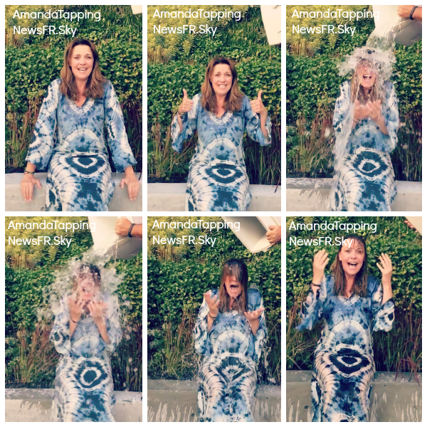 Anniversaire Amanda + Ice Bucket Challenge Amanda & Robin Dunne + TWITTER + Ouverture de la billetterie TGS + Photo Amanda Fedcon