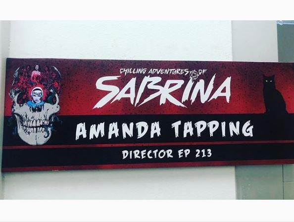 TWITTER + Convention Amanda LFCC + Amanda Tapping : Just Watch Us + INFO 2020 + INSTAGRAM + Photo #TBT David blue