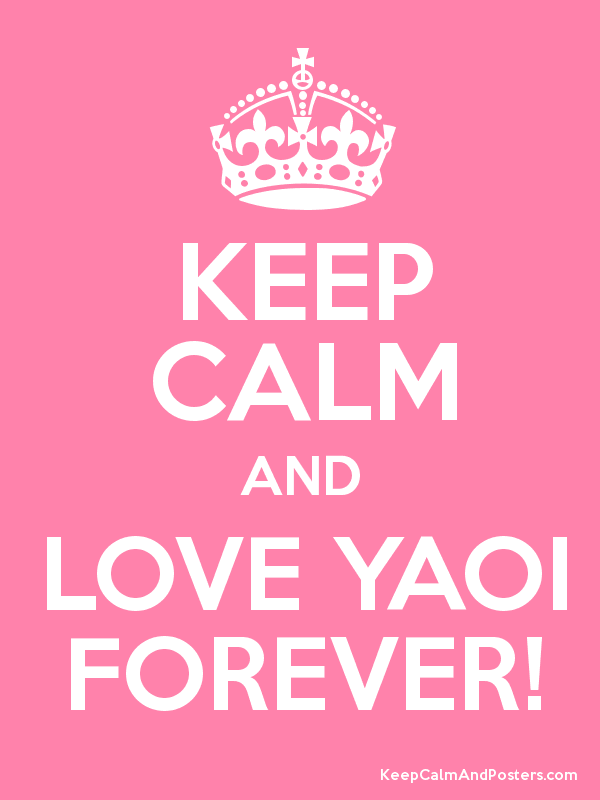 Yaoi forever <3
