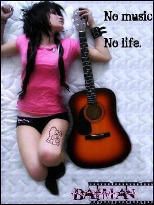 no music no life!!!!!!!!!!!!