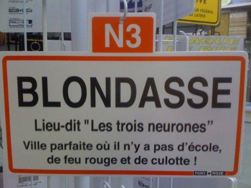 dsl pour les blondes