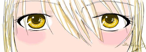 Des yeux....