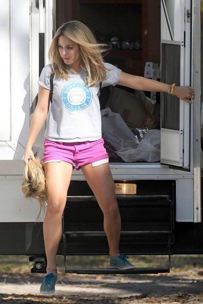 Vanessa Hudgens devient blonde pour Spring Breakers !