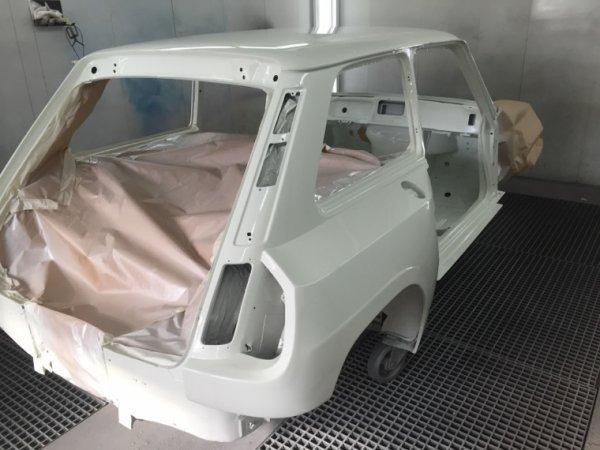 R5 turbo 2 peinte