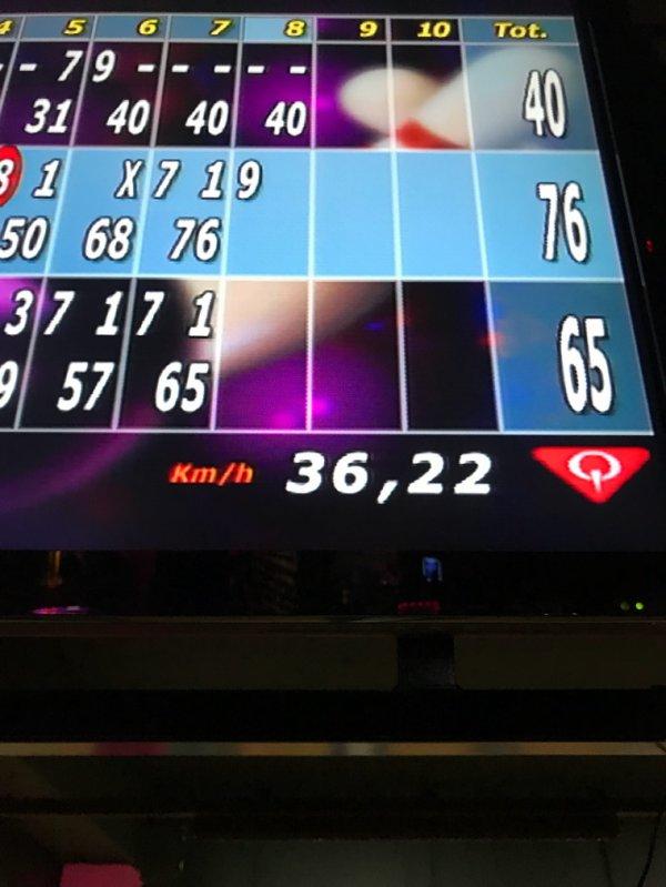 Bowling boule speedy