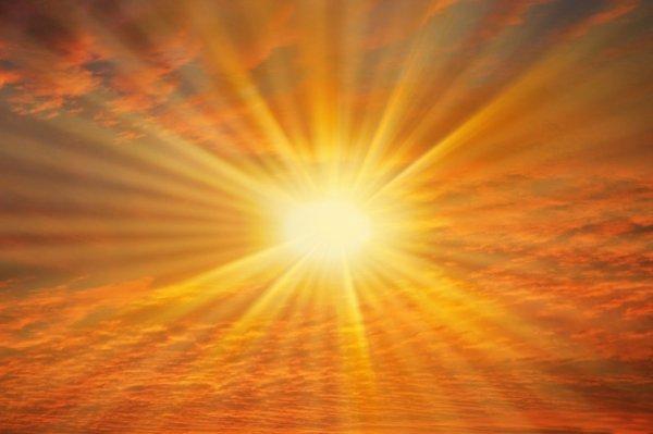 le soleil est ou??