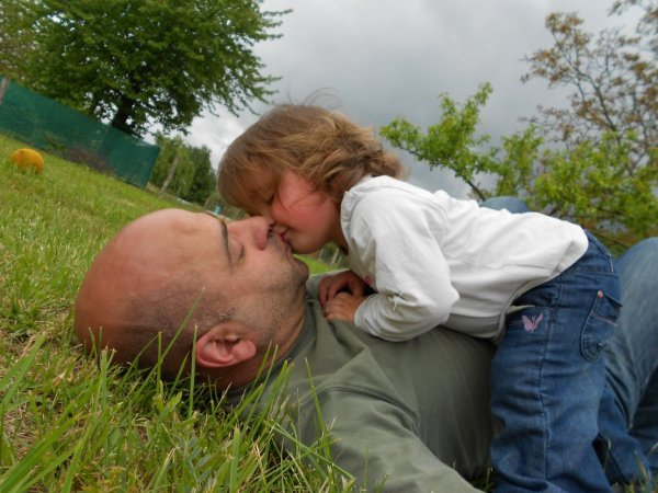 papa et lola gros calins....